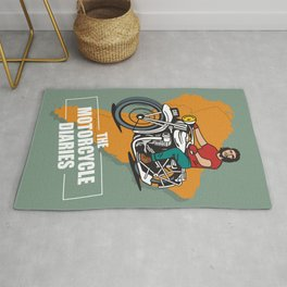 The Motorcycle Diaries - Alternative Movie Poster Rug