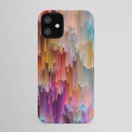 Light meets Dark Colorful Glitch Art iPhone Case