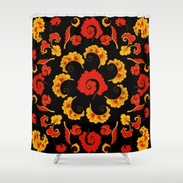 Traditional russian folk Shower Curtain