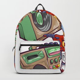 Tezcatlipoca Old School Hip Hop Backpack