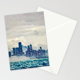 Blue Wave Chicago Stationery Cards
