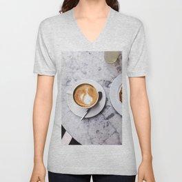 Delicious Warm Latte Unisex V-Neck