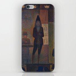 Georges Seurat  -  Circus Sideshow iPhone Skin