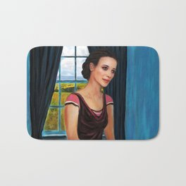 La chambre bleue (The blue room) Bath Mat