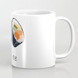 Sushi bite me design Coffee Mug
