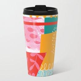 Summer Abstract Travel Mug