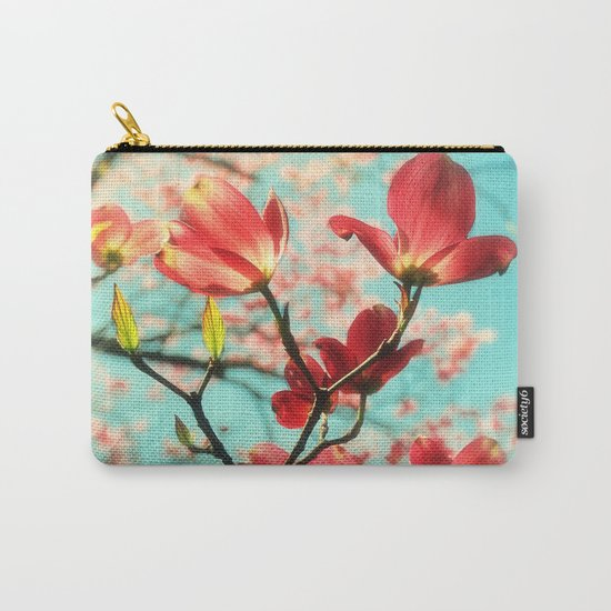 Spring dogwood blossoms Carry-All Pouch