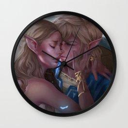 The Silent Princess Wall Clock