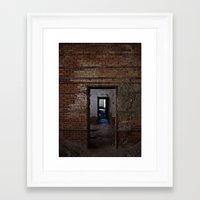doors Framed Art Prints featuring doors by indefiniteobjects