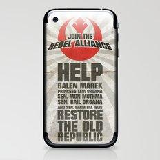Join the Rebel Alliance iPhone & iPod Skin