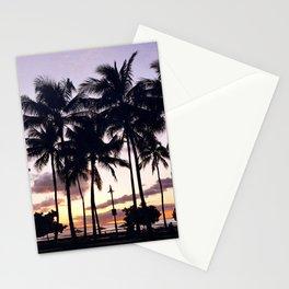 Waikiki Sunset Stationery Cards