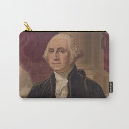 Vintage Portrait of George Washington (1876) Carry-All Pouch