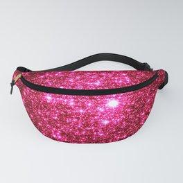 Hot Pink Glitter Galaxy Stars Fanny Pack
