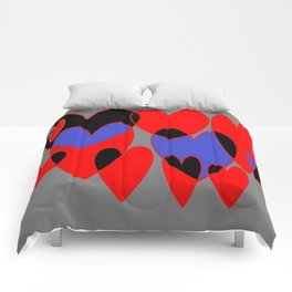 Corazones Comforters