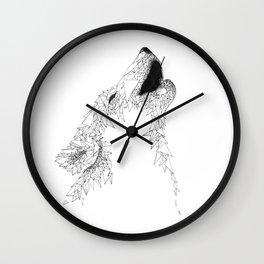 I am Wolves Wall Clock