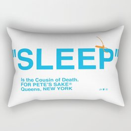 """SLEEP"" Rectangular Pillow"