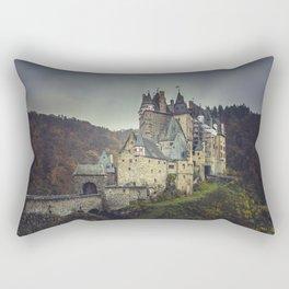 Eltz castle panoramic shot Rectangular Pillow