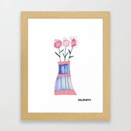 Potted Flowers 1 Framed Art Print