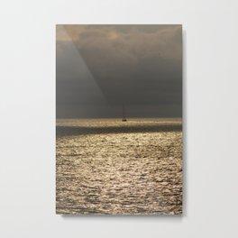 Morning Sailing at early time Metal Print