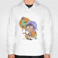 aladdin Hoodies featuring Cute Aladdin by EY Cartoons