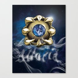 Clawed Eye & Alloria Canvas Print