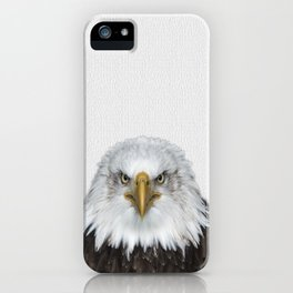 Bald Eagle Print, American Eagle, Bird Animal Photography, Minimalist iPhone Case