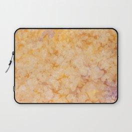 Gold Bloom Laptop Sleeve