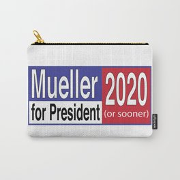 Mueller For President 2020 Carry-All Pouch