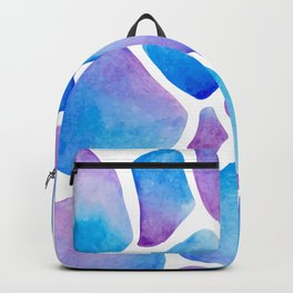 Blue Giraffe Backpack