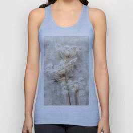 French Country Queen Anne's Lace Unisex Tank Top