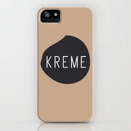 KREME iPhone Case