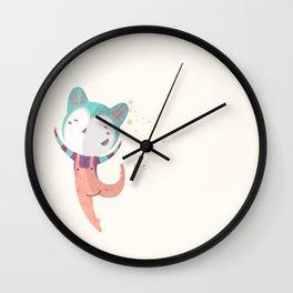 Dance Dreams (Cream) Wall Clock