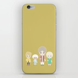 Girls in their Golden Years iPhone Skin