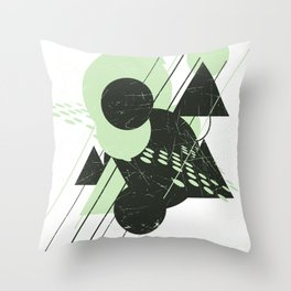 The Dance Floor Throw Pillow