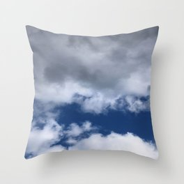 So what the sky is pretty again Throw Pillow