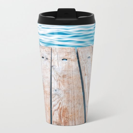 Dock of the Bay Metal Travel Mug