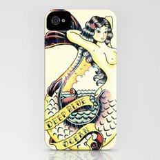 Mermaid Slim Case iPhone (4, 4s)