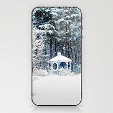 Snowy Gazebo iPhone & iPod Skin