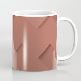 Terracotta pattern, layered like shingles, tiles or paint swatches you just cannot choose from! Coffee Mug