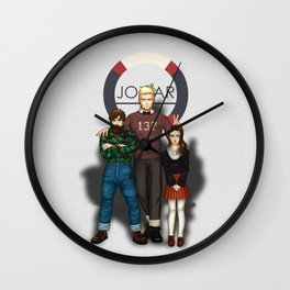 Hanz, Abel and Madeleine Wall Clock