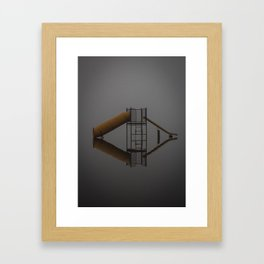 reflections shown Framed Art Print