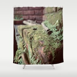 Where the Green Fern Grows Shower Curtain