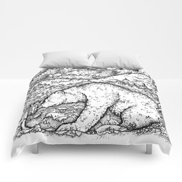 John Bauer Bear Comforters