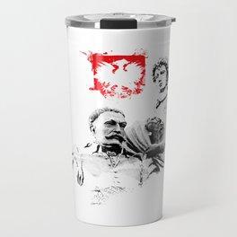 Polish King Jan III Sobieski & Marysienka Travel Mug