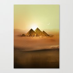 Station Pyramid Day Canvas Print