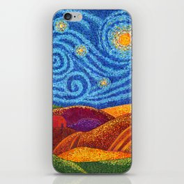 Grounding Hills iPhone Skin