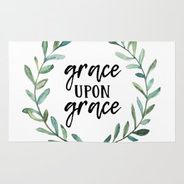 Grace Upon Grace Rug