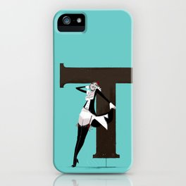 Terry & Copperplate iPhone Case