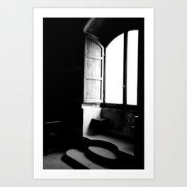 Hidden Spaces of Poppi Castle Art Print