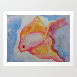 Piscis Art Print